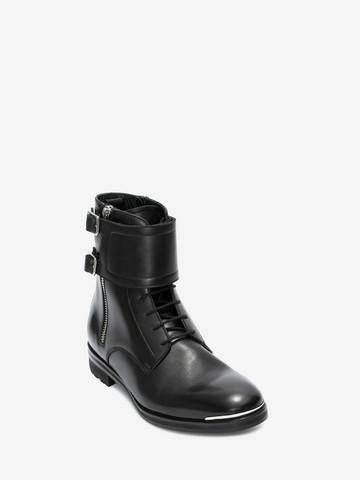ALEXANDER MCQUEEN Double Buckle Boot Boots Man r
