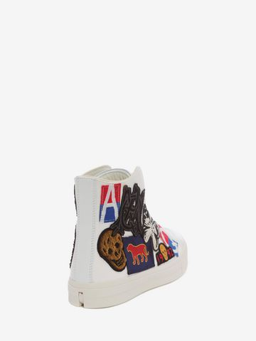 ALEXANDER MCQUEEN High Top Lace Up Sneaker Sneakers U d
