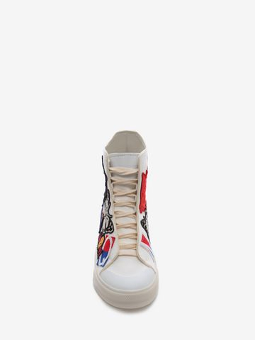 ALEXANDER MCQUEEN High Top Lace Up Sneaker Sneakers U e