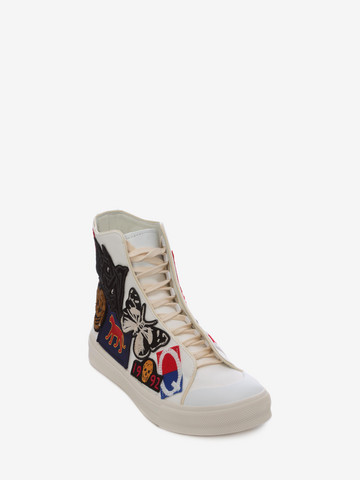 ALEXANDER MCQUEEN High Top Lace Up Sneaker Sneakers U r