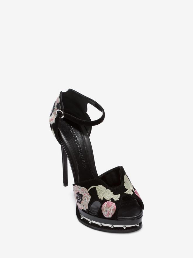 ALEXANDER MCQUEEN Butterfly Sandal Sandals Woman r
