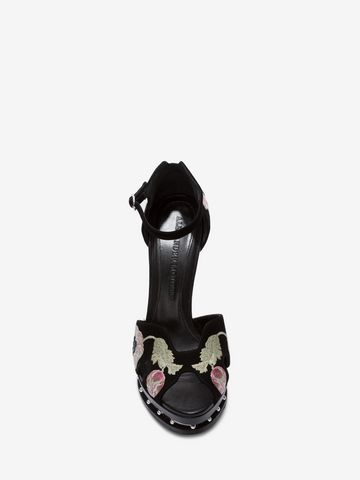ALEXANDER MCQUEEN Butterfly Sandal Sandals Woman e