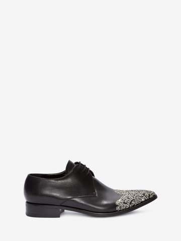 ALEXANDER MCQUEEN Embroidered Derby Lace-Up Lace Ups U f