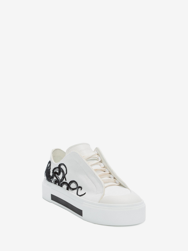 ALEXANDER MCQUEEN Low Cut Lace-Up Sneakers Sneakers Woman r