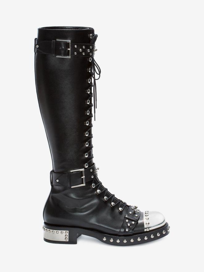 ALEXANDER MCQUEEN Hobnail Boot Boots D f