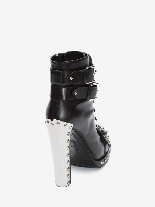ALEXANDER MCQUEEN Hobnail Ankle Boot Hobnail Boot Woman d