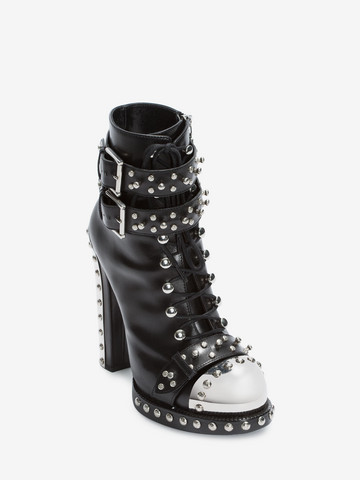 ALEXANDER MCQUEEN Hobnail Ankle Boot Hobnail Boot Woman r
