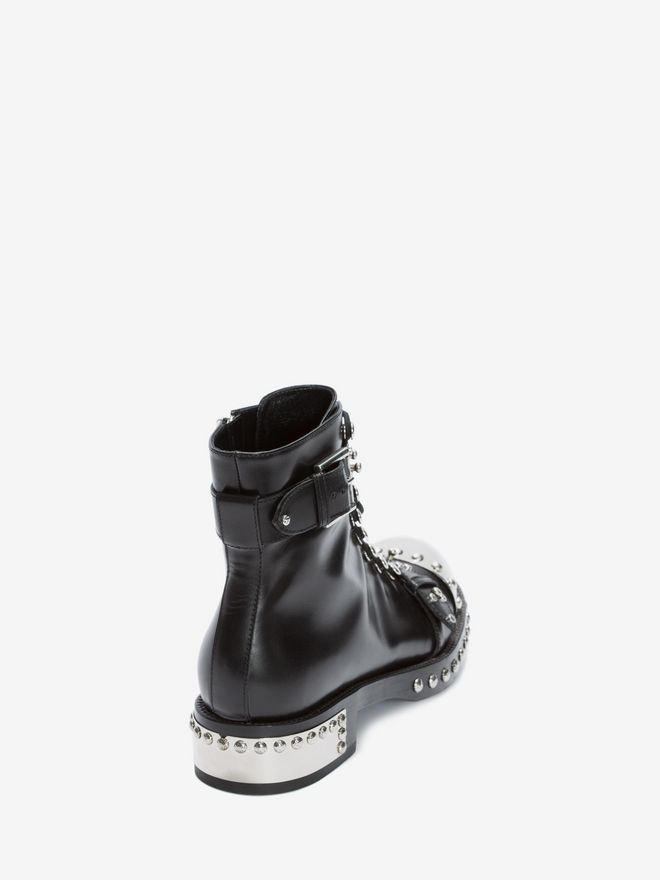 ALEXANDER MCQUEEN Hobnail Ankle Boot ホブネイルブーツ レディース d
