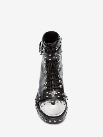 ALEXANDER MCQUEEN Hobnail Ankle Boot ホブネイルブーツ レディース e