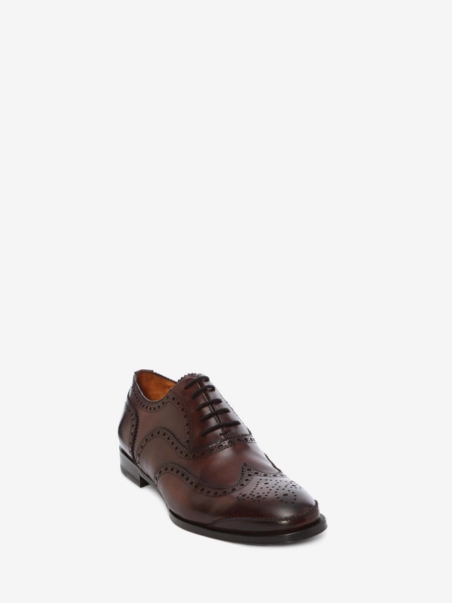 ALEXANDER MCQUEEN Leather Oxford Brogue Lace Ups U r