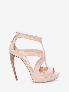 Horn Heel Sandal