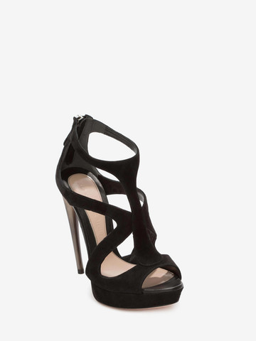 ALEXANDER MCQUEEN Horn Heel Sandal Sandals D r