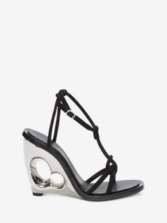 Sculpted Wedge Sandal