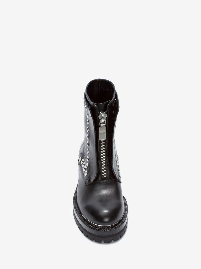 ALEXANDER MCQUEEN Biker Boot Boots D e