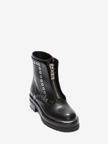 ALEXANDER MCQUEEN Biker Boot Boots D r