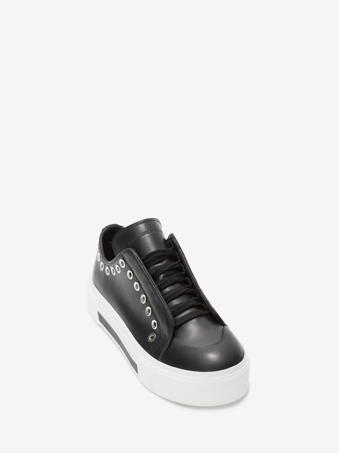 ALEXANDER MCQUEEN Low Cut Lace Up Sneaker Sneakers D r