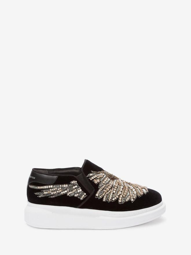 ALEXANDER MCQUEEN Embroidered Slip-On Sneaker Sneakers D f