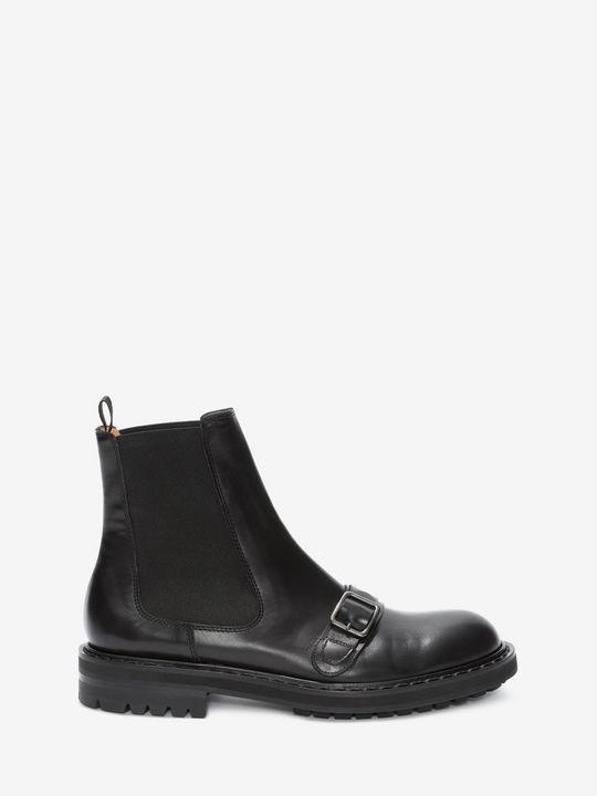 ALEXANDER MCQUEEN Chelsea Buckle Boot Boots U f