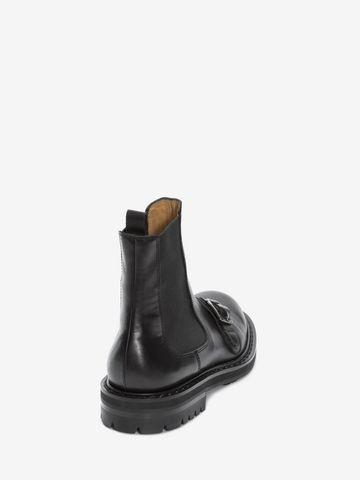 ALEXANDER MCQUEEN Chelsea Buckle Boot Boots Man d