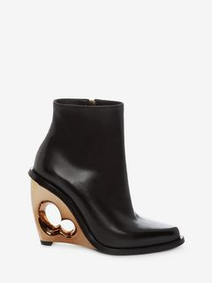 Sculpted Wedge Boot