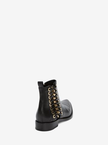 ALEXANDER MCQUEEN Braided Chain Ankle Boot Braided Chain Boot D d