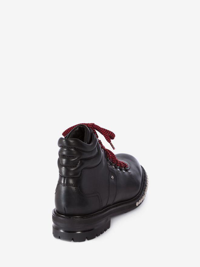 Alexander McQueen Studded Hiking Boots IrlAIuoAP