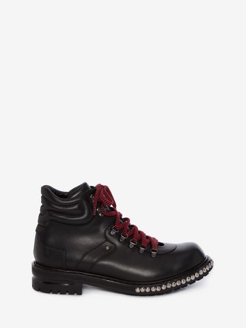 ALEXANDER MCQUEEN Studded Hiking Boot Boots U f