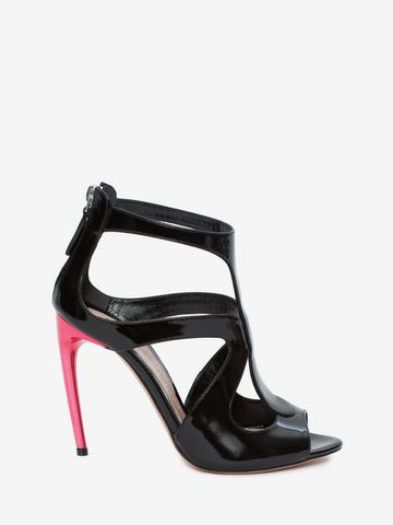 ALEXANDER MCQUEEN Cage Sandal CAGE SANDAL Woman f