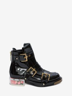 ALEXANDER MCQUEEN BUCKLE BOOT Woman Buckle Boot f
