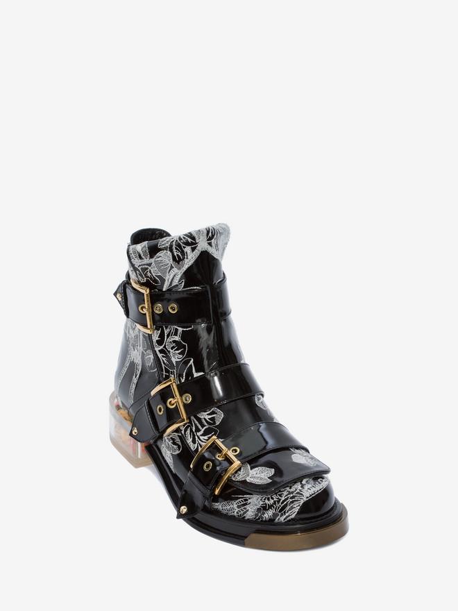 ALEXANDER MCQUEEN Buckle Boot BUCKLE BOOT Woman r