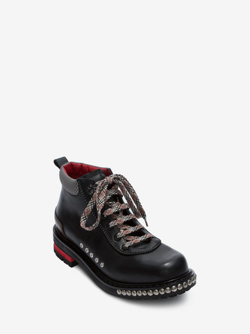 ALEXANDER MCQUEEN Studded Hiking Boot HIKING BOOT Man r