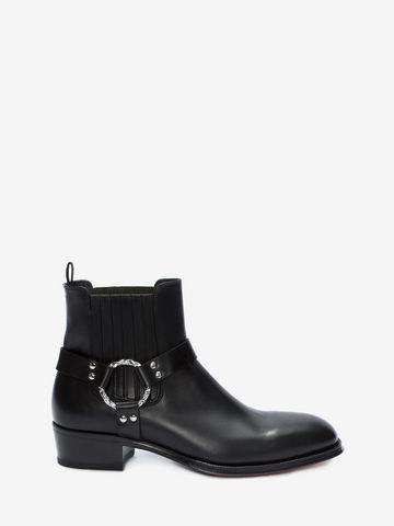 Alexander McQueen Cuban heel boots mqHiliPTu
