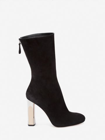 Multi Coloured High Quality Cheap Online sculpted heel boots - Black Alexander McQueen TaLaeyUdS