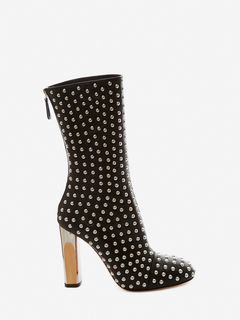 ALEXANDER MCQUEEN SCULPTED HEEL BOOT Woman Sculpted Heel Boot f