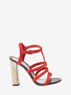 Sculpted Heel Sandal