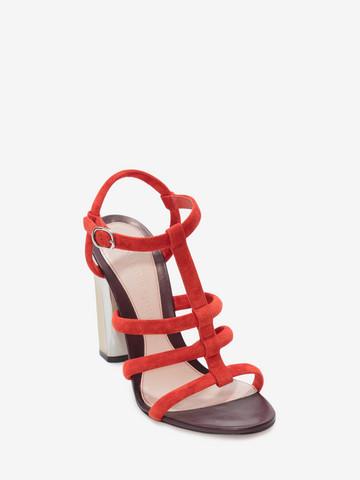 Alexander McQueen Sculpted heel sandals 2bZ3a64LiM