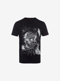 ALEXANDER MCQUEEN T-shirt Man Organic Jersey T-Shirt f