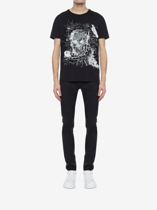 ALEXANDER MCQUEEN Organic Jersey T-Shirt T-shirt U r