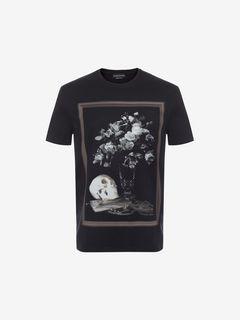 ALEXANDER MCQUEEN T-shirt U Printed T-Shirt f