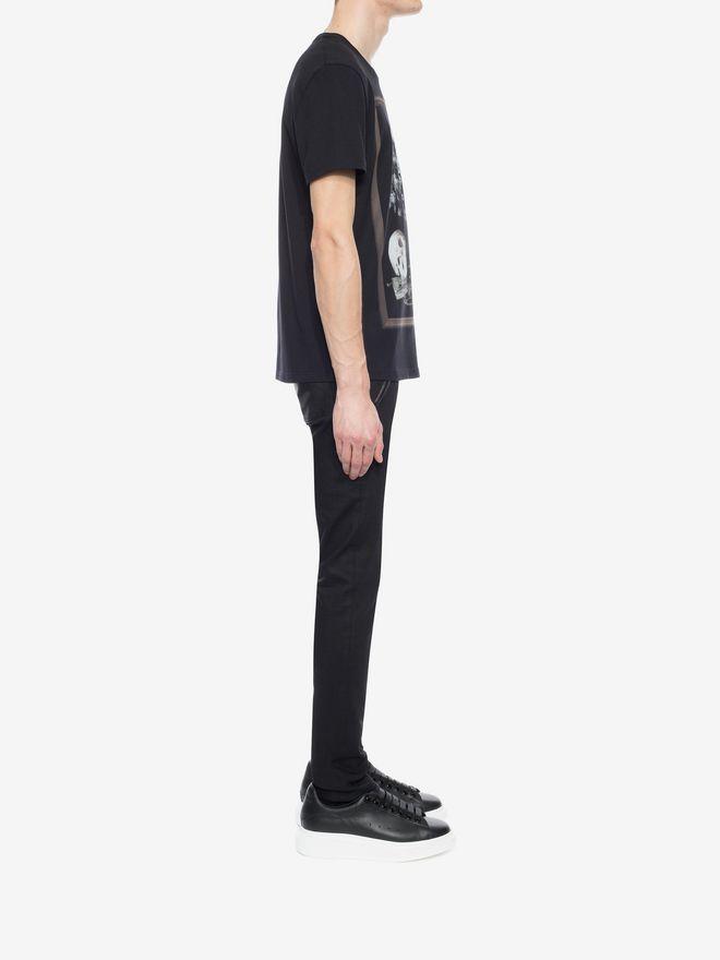 ALEXANDER MCQUEEN Printed T-Shirt T-shirt Man d
