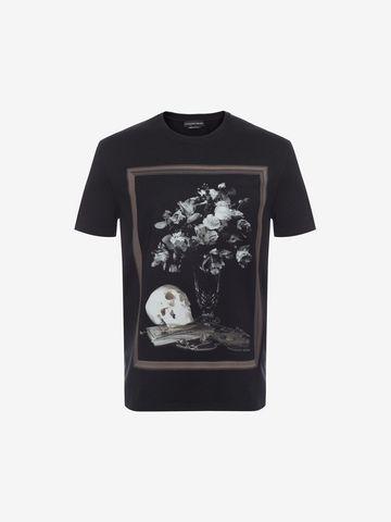 ALEXANDER MCQUEEN Printed T-Shirt T-shirt Man f