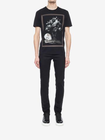 ALEXANDER MCQUEEN Printed T-Shirt T-shirt Man r