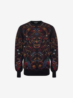 ALEXANDER MCQUEEN Sweatshirt U Embroidered Sweatshirt f