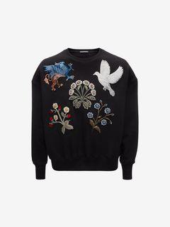 ALEXANDER MCQUEEN Sweatshirt D Embroidered Sweatshirt  f