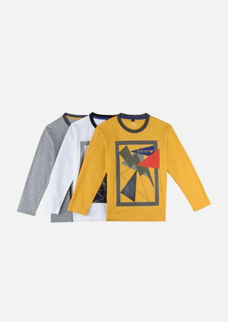 3784766f59cc T-Shirt   Enfant   Armani Junior
