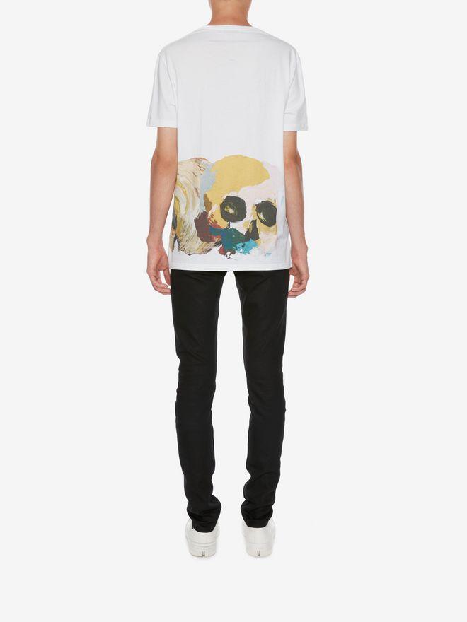 ALEXANDER MCQUEEN Skull Printed T-Shirt T-shirt Man e