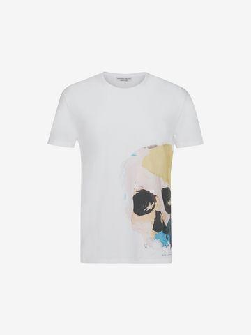 ALEXANDER MCQUEEN Skull Printed T-Shirt T-shirt Man f