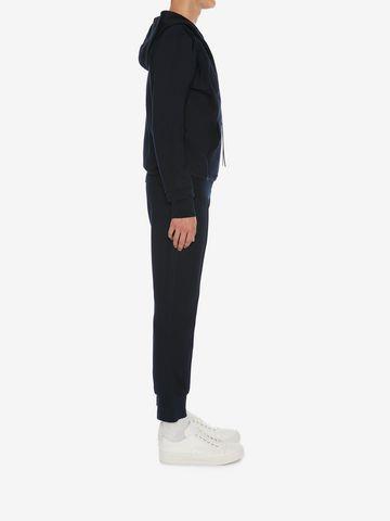 ALEXANDER MCQUEEN Sweat-shirt à capuche double face Sweat-shirt Homme d