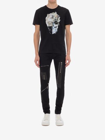 ALEXANDER MCQUEEN Skull Printed T-Shirt T-shirt Man r
