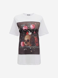 ALEXANDER MCQUEEN Top Woman Still Life T-Shirt f